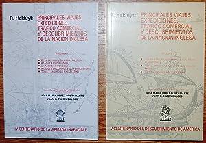PRINCIPALES VIAJES, EXPEDICIONES, TRAFICO COMERCIAL Y DESCUBRIMIENTOS DE LA NACION INGLESA. Edici&...