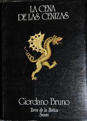 """LA CENA DE LAS CENIZAS. Colección """"Torre: BRUNO, Giordano"""
