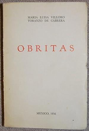 OBRITAS: VILLORO TORANZO DE CABRERA, María Luisa