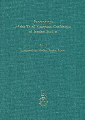 Proceedings of the Third European Conference of: Melville, Charles