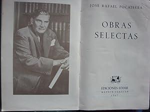 Obras selectas: POCATERRA, JOSË RAFAEL