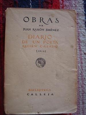 Diario de un poeta recién casado (1916): JIMÉNEZ, JUAN RAMÓN
