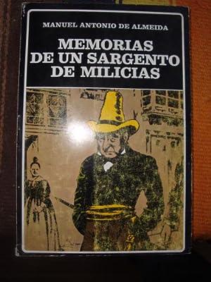 Memorias de un sargento de milicias: ALMEIDA, MANUEL ANTONIO