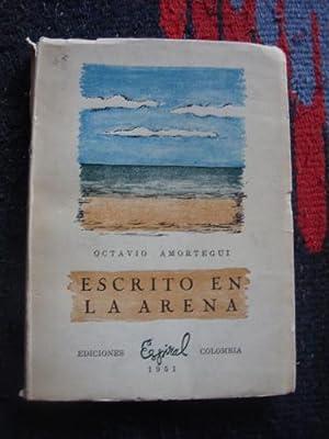 Escrito en la arena: AMORTEGUI, OCTAVIO