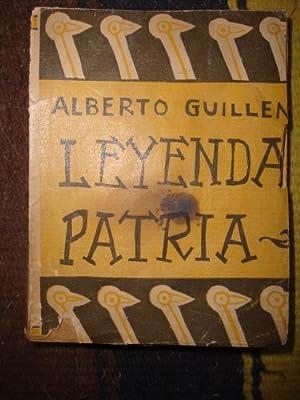 Leyenda patria. Poema sinfónico en tres tiempos: GUILLEN, ALBERTO