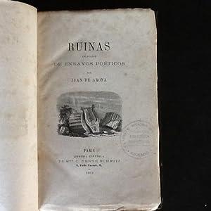 Ruinas. Colección de ensayos poéticos: ARONA, JUAN DE