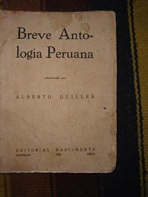 Breve Antologia Peruana.: GUILLEN, ALBERTO