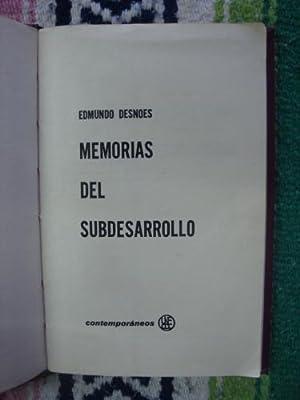 Memorias del subdesarrollo: DESNOES, EDMUNDO