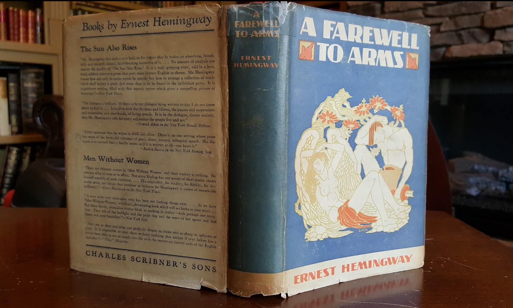 literary analysis of the love story a farewell to arms by ernest hemingway Ernest hemingway (1899-1961) was one of the twentieth century's most important novelists, as well as a brilliant short story writer and foreign correspondent his body of work includes the novels a farewell to arms , for whom the bell tolls , and the sun also rises.