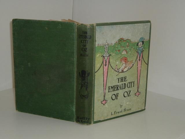 THE EMERALD CITY OF OZ By L. FRANK BAUM 1910 COLOR FRONTIS: L. FRANK BAUM