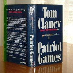PATRIOT GAMES BY TOM CLANCY/FIRST EDITION 1987: TOM CLANCY
