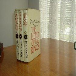 THE LORD OF THE RINGS 3 VOLS 1965 HOUGHTON second Edition: J. R. R. TOLKIEN