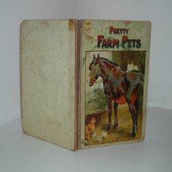 PRETTY FARM PETS, ca 1890s very Rare: HELENA MAGUIRE
