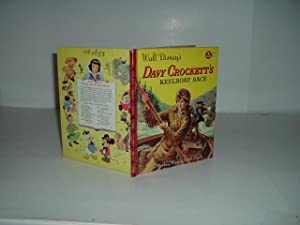 DAVY CROCKETT'S KEELBOAT RACE 1955 A MICKEY MOUSE CLUB BOOK: IRWIN SHAPIRO