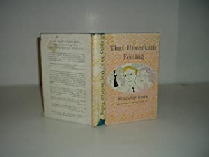 THAT UNCERTAIN FEELING By KINGSLEY AMIS 1956 First American Edition: KINGSLEY AMIS