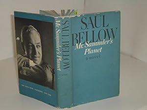 MR. SAMMLER'S PLANET By SAUL BELLOW 1970 first Edition: SAUL BELLOW