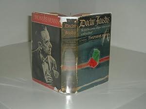 DOCTOR FAUSTUS By THOMAS MANN 1948 first Edition: THOMAS MANN