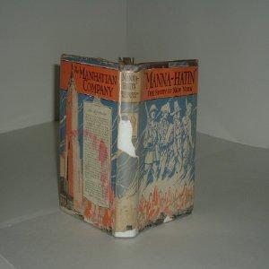 MANNA-HATIN The Story Of New York 1929: MANNA-HATIN The Story