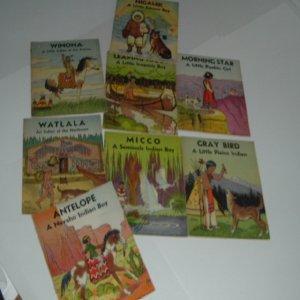 MY INDIAN LIBRARY 8 VOLS. By THE PLATT & MUNK CO.: ROGER VERNAM