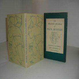 THE WONDERFUL ADVENTURES OF PAUL BUNYAN 1945 Heritage Press: LOUIS UNTERMEYER