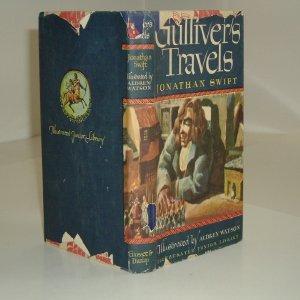 GULLIVER'S TRAVELS By JONATHAN SWIFT 1947 ILLUSTRATED: JONATHAN SWIFT