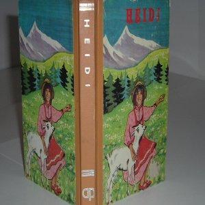HEIDI By JOHANNA SPYRI - Printed in: JOHANNA SPYRI