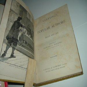 GLEANINGS FROM POPULAR AUTHORS: GRAVE AND GAY 1886: GRAVE AND GAY