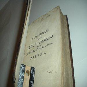 REMISSOENS DAS LEYS NOVISSIMAS, DECRETOS, A VISOS, EMAIS DISPOSICOENS 1778 PARTE I.: JOZE ROBERTO