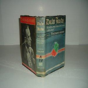 DOCTOR FAUSTUS By THOMAS MANN 1948 First American Edition: THOMAS MANN