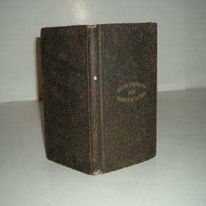 KEY TO ROBINSON'S NEW ELEMENTARY ALGEBRA 1876: Robinson