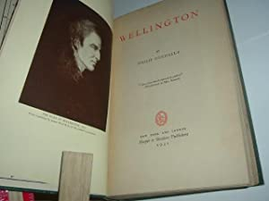 WELLINGTON By PHILIP GUEDALLA 1931 First Edition: PHILIP GUEDALLA