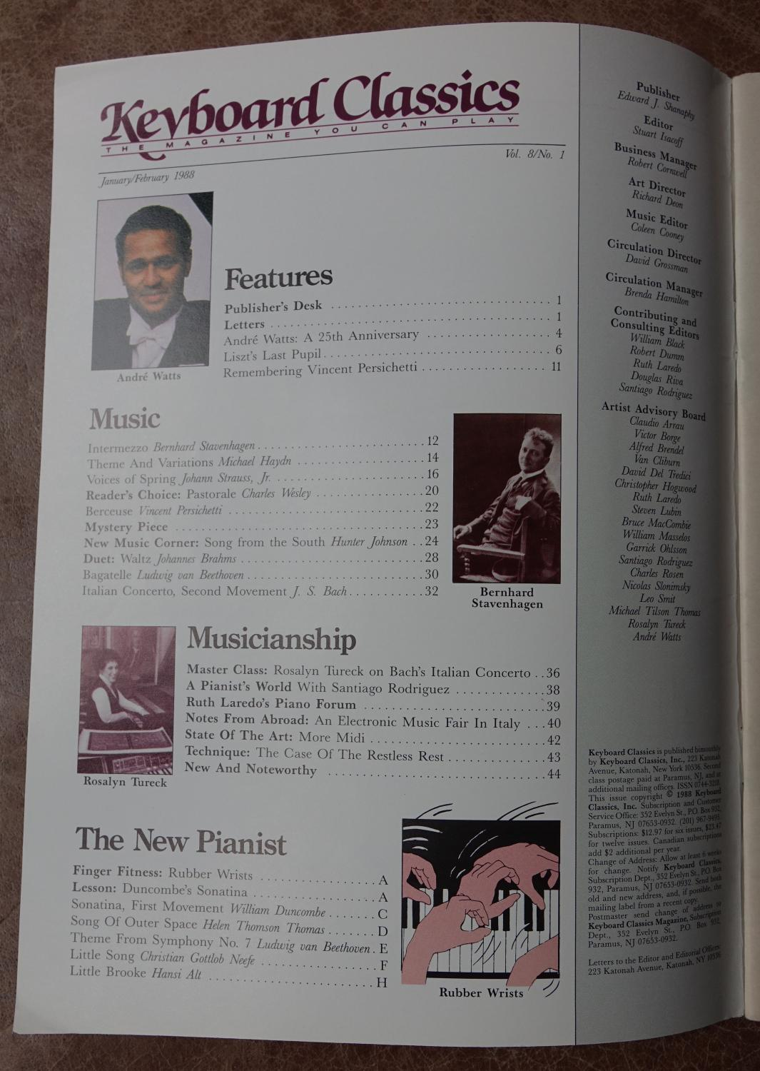 Keyboard Classics: The Magazine You Can Play