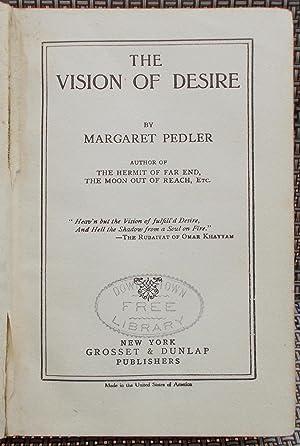 The Vision of Desire: Pedler, Margaret