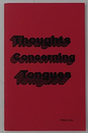 Thoughts Concerning Tongues