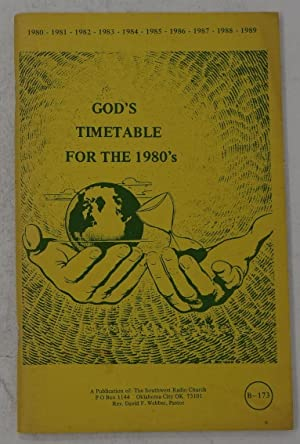 God's Timetable for the 1980's
