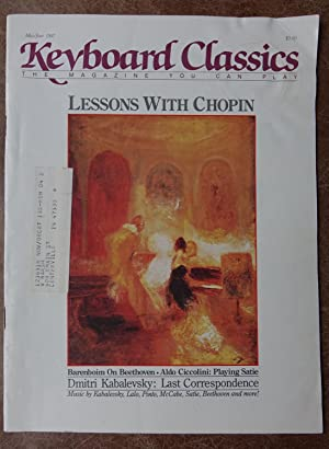 Keyboard Classics: The Magazine You Can Play - May/June 1987 - Lessons with Chopin - Vol. 7 No. 3