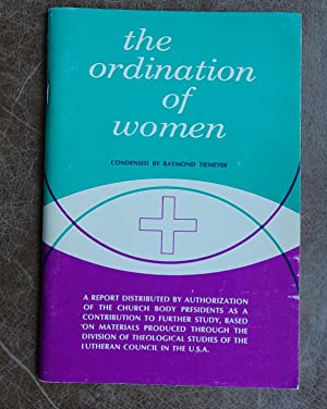 The Ordination of Women