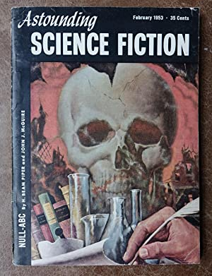 Astounding Science Fiction - February 1953 - Vol. L No. 6