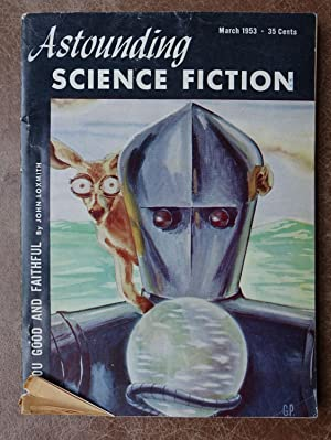 Astounding Science Fiction - March 1953 - Vol. LI No. 1