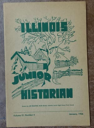 Illinois Junior Historian: Volume IX, Number 4 - January 1956