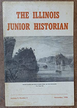 The Illinois Junior Historian: VolumeI X Number 2 - November 1956