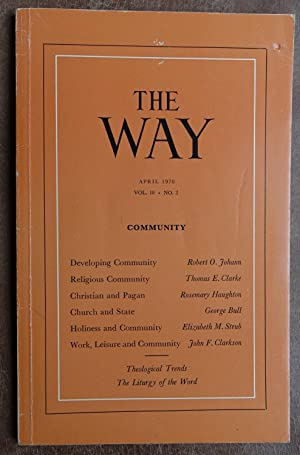 The Way - April 1970 Volume 10 No. 2