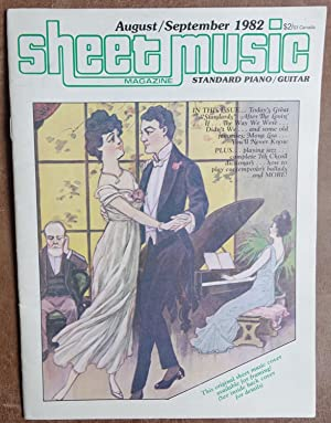 Sheet Music Magazine: August/September 1982 - Vol. 6 No. 6