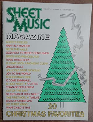Sheet Music Magazine: December 1977 - Vol. 1 No. 10