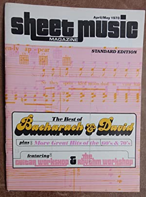 Sheet Music Magazine: April/May 1978
