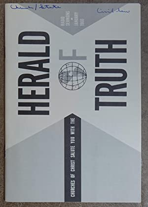 Herald of Truth: Radio Sermons January 1960 - Churches of Christ
