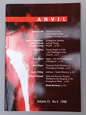 Anvil: Volume 15, No. 4 1998