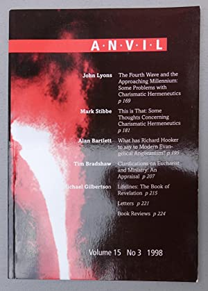 Anvil: Volume 15, No. 3 1998