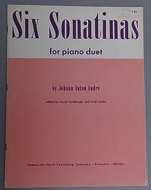 Six Sonatinas for Piano Duet: Andre, Johann Anton