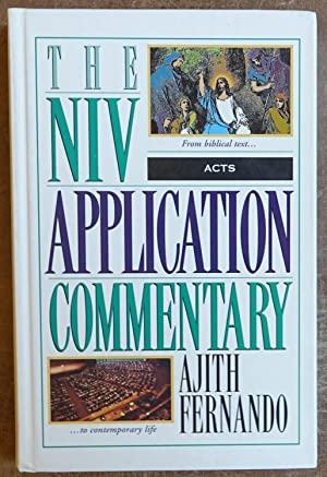 The NIV Application Commentary: Acts